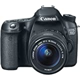 Canon EOS 70D 20.2 MP Digital SLR Camera with Dual Pixel CMOS AF and EF-S 18-55mm F3.5-5.6 IS STM Kit