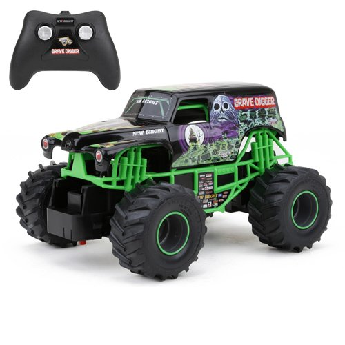 New Bright F/F Monster Jam Grave Digger RC Car (1:24 Scale) (Monster Trucks Rc compare prices)