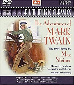 Steiner - The Adventures Of Mark Twain Dvd Audio by Naxos
