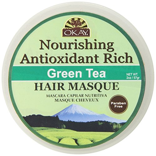 Okay Green Tea Nourishing Antioxidant Rich Hair Masque, 2 Ounce