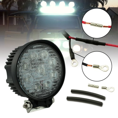 27W Round Spot Utv/Jeep/Truck/Suv/Atv Led Off Road Work Light (More Options Available)
