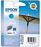 Epson Stylus Printer Original Inkjet Print Cartridge High Capacity T0442 - Cyan