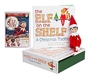 buy the elf on the shelf a christmas tradition with north. Black Bedroom Furniture Sets. Home Design Ideas