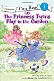 Princess Twins Play In The Garden