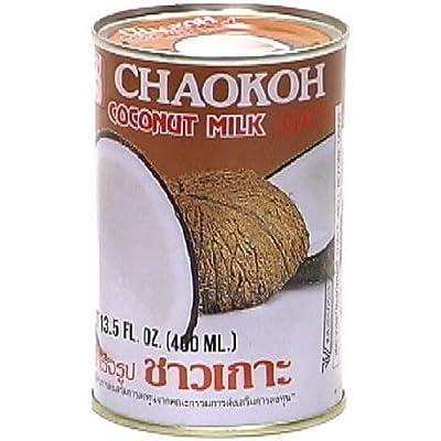 Chaokah Chaokoh Coconut Milk, 13.5-Ounce (Pack of 8)