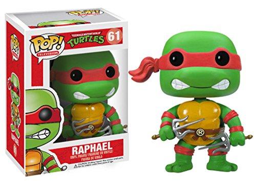 """Funko Pop TV Teenage Mutant Ninja Turtles Raphael Vinyl Action Figure Toy, 3.75"""" PRS"""