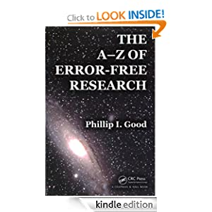 A-Z of Error-Free Research Using R Phillip Good