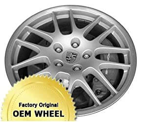 PORSCHE PANAMERA 20X9.5 14 SPOKE Factory Oem Wheel Rim- MACHINE LIP SILVER – Remanufactured