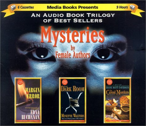 Trilogy Of Mysteries By Female Authors - Margin Of Error, The Dark Room, The Cereal Murders