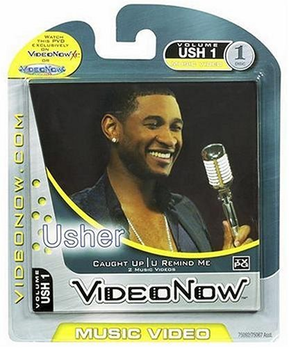 "Videonow Personal Music Video Disc: Usher - ""U Remind Me"" & ""Caught Up"" - 1"