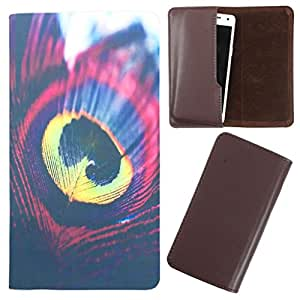 DooDa - For Micromax Canvas Fire A104 PU Leather Designer Fashionable Fancy Case Cover Pouch With Smooth Inner Velvet
