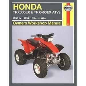 Honda TRX300EX & TRX400EX Livre en Ligne - Telecharger Ebook