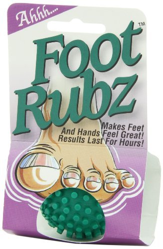 Due North Foot Rubz Foot Hand and Back Massage Ball Green