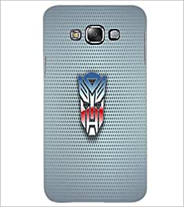 PrintDhaba Mask D-1818 Back Case Cover for SAMSUNG GALAXY A8 (Multi-Coloured)