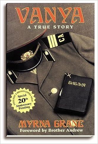 Vanya: A True Story written by Myrna Grant