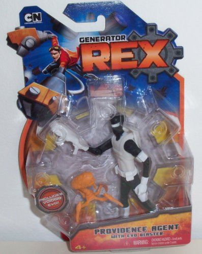 "Generator Rex 4"" Providence Agent Action Figure"