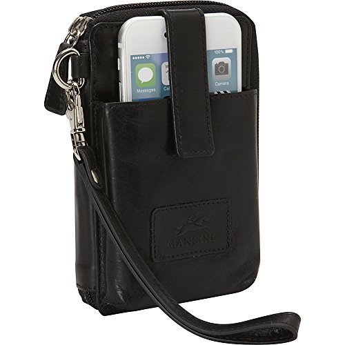 mancini-leather-goods-cell-phone-rfid-wallet-black