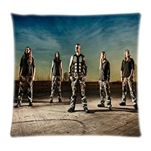 UK-Jewelry Promotion Popular Nice Sabaton Wallpaper Soft Throw Productation Cool Case Home Product Pillow Case 18x18 Inch by UK-Jewelry