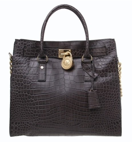 Michael Michael Kors Hamilton North/south Tote Charcoal