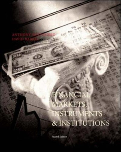 Financial Markets, Instruments and Institutions