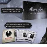Batman: Arkham Origins UK Collectors Edition Exclusive Hardcover Art Book & Hitman Contract Wanted Pack by CD Projekt  (2013)