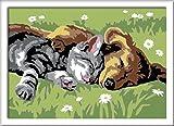 Ravensburger Malen nach Zahlen 28015 - Tiefer Schlaf, Malset hergestellt von Ravensburger Spieleverlag