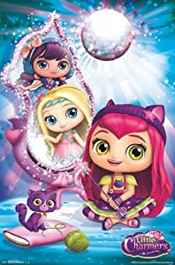 "Poster - Little Charmers - Party Chat New Wall Art 22""x34"" rp14450"