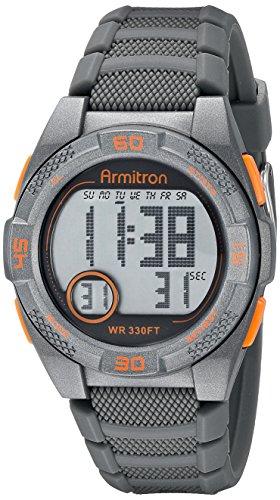 armitron-sport-unisex-45-7048gry-arancione-accented-digitale-cronografo-cinturino-in-silicone-grigio