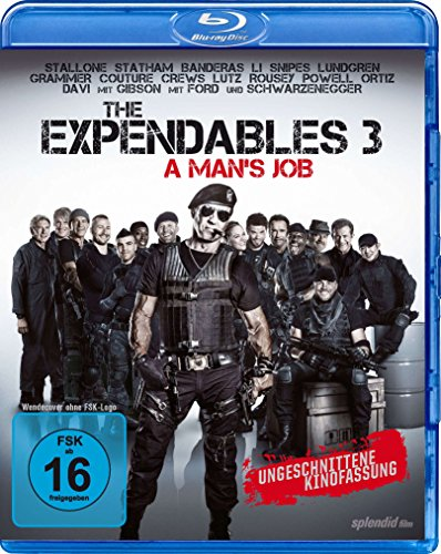 The Expendables 3 - A Man's Job - Ungeschnittene Kinofassung - Dolby Atmos [Blu-ray]
