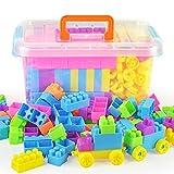 WTOR 積み木 ブロック 知育 おもちゃ 玩具 男の子 女の子 贈り物 誕生日プレゼント 出産祝い 300ピース (300ピース)