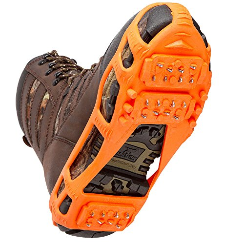 STABILicers Stabilicers Lite Ice Cleats,Orange,M (7.5-10 Mens / 8.5-12 Womens) (Snow Tires For Feet compare prices)
