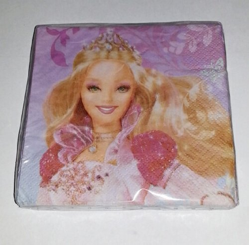 Barbie in the 12 Dancing Princesses Beverage Napkins - 16 count