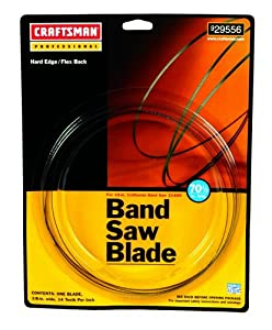 "Craftsman Band Saw Blade- 70-1/2"" 3TPI"