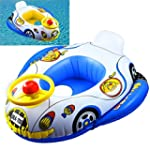 INFLATABLE CAR BABY FLOAT SEAT BOAT B...