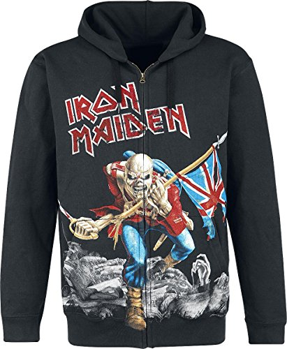 Iron Maiden The Trooper - Battlefield Felpa jogging nero L