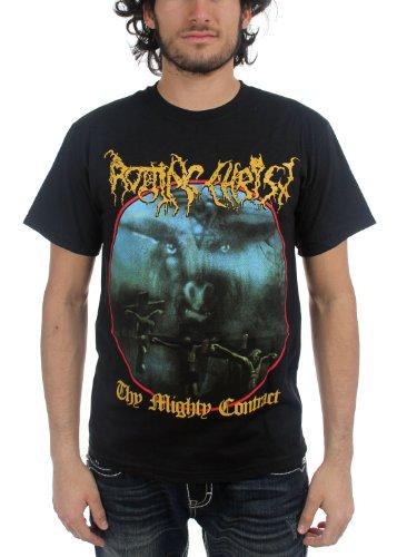 Rotting Christ-Thy Mighty contratto-Maglietta da uomo, colore: nero nero Medium