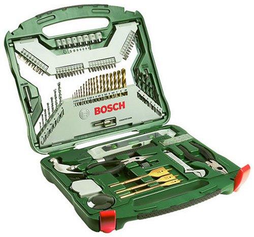 Bosch x-line - Malet�n de 103 unidades para taladrar y atornillar, combo, titanium