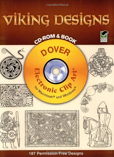 Viking Designs CD-ROM and Book (Dover Electronic Clip Art)