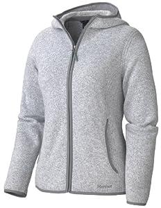 土拨鼠 Marmot 女士户外抓绒保暖外套 灰色 $75.99