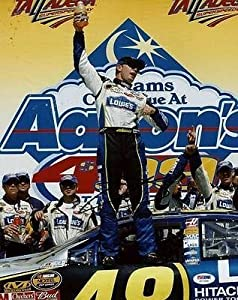 Jimmie Johnson Autographed Photo - 11x14 #g77289 - PSA DNA Certified - Autographed... by Sports Memorabilia