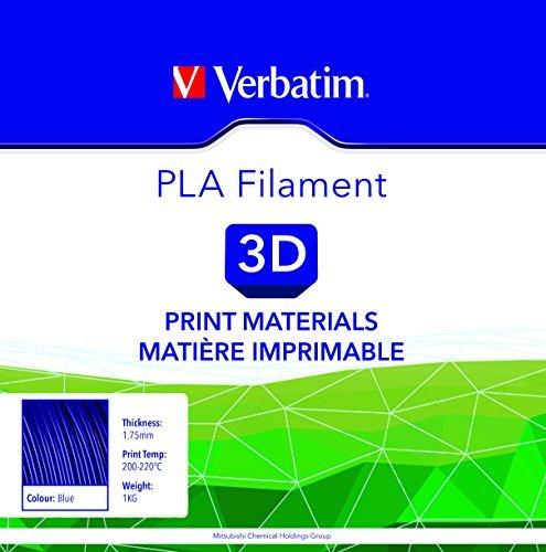 Verbatim 3D Printer Filament PLA 1,75 mm 1 kg blue