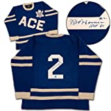 RED HORNER 1934 Ace Bailey All Star Game Maple Leafs Autographed Sweater