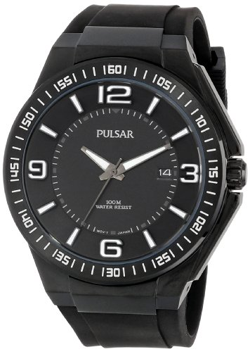 Pulsar Sport Black Dial Men's Watch #PS9225