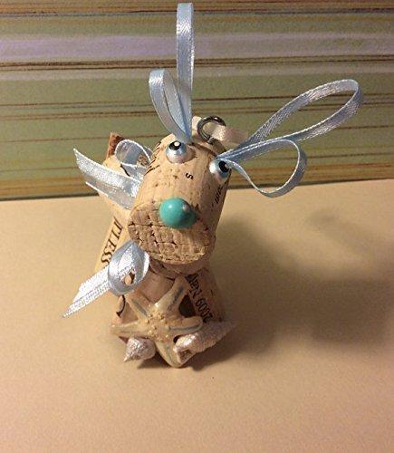 Real Weddings Cork: Wine Cork Craft Holiday Christmas Beach Nautical Reindeer