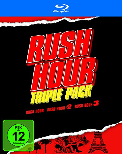Rush Hour - Trilogy [Blu-ray]