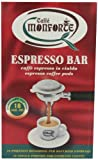 Caffe Monforte 18 Individually Packaged gound Coffee Pods 125 g Pack of 2