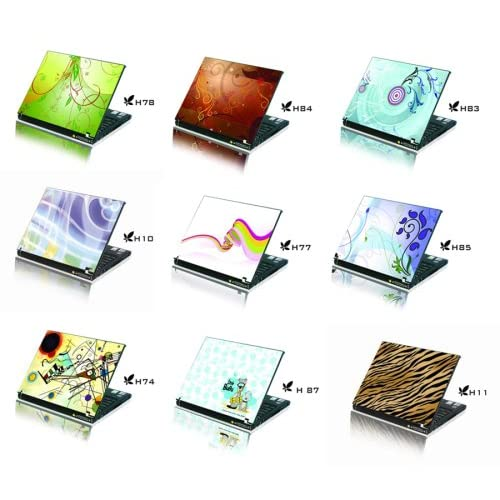 Laptop Notebook Skins Sticker Cover (Brand New with 2 FREE touch pad decals)