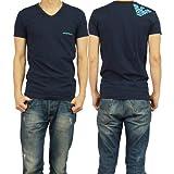 (エンポリオアルマーニ)EMPORIO ARMANI エンポリオアルマーニアンダーウェア メンズVネックTシャツ 110810 4P725 ネイビー [並行輸入商品]