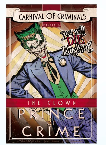 Licenses Products DC Comics Batman Joker Sticker