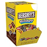 Hersheys Miniatures (Krackel, Mr. Goodbar, Hersheys Milk and Special Dark Chocolate),  .3 oz. Bars, 120-Count